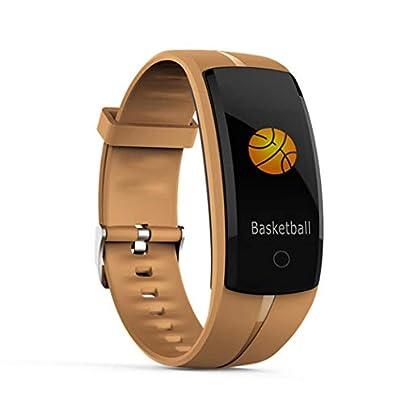 amilses Unisex Waterproof Pedometer Heart Rate Smart Wristband Heart Rate Monitors Estimated Price -
