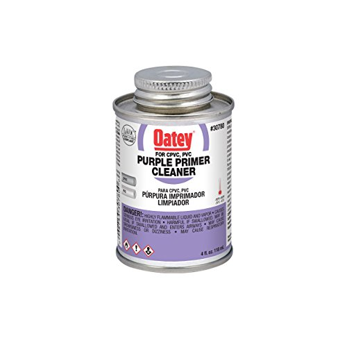 Oatey 30780 Purple Primer And Cleaner For PVC And CPVC Pipe And Fittings