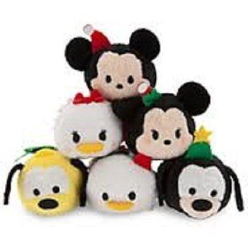 Price comparison product image Tsum Tsum Mini Plush 6pc Set: Holiday Classic Mickey,  Minnie,  Goofy,  Pluto,  Donald,  and Daisy Duck 3.5