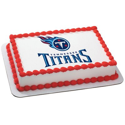 Tennessee Titans Licensed Edible Cake Topper #4616