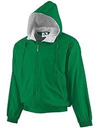 Unisex-Adult Hooded Taffeta Jacket/Fleece Lined