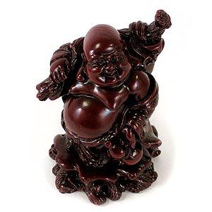red resin buddha - 1