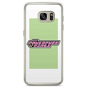Loud Universe Power Puff Girls Samsung S7 Case Cute Girls Cartoon Samsung S7 Cover with Transparent Edges