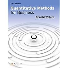 Quantitative Methods for Business (5th Edition)