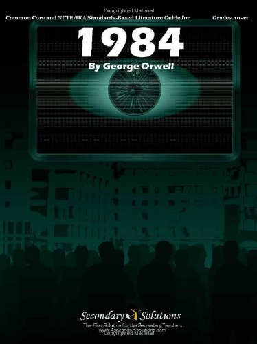 1984 Teacher Guide - Novel Lesson Unit for Teaching Nineteen Eighty Four by George Orwell