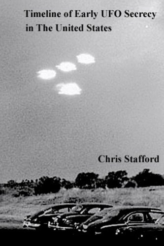 Download Timeline of Early UFO Secrecy in The United States pdf