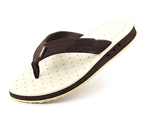 Playa Zapatillas Los Transpirables De Sandalias Flip De Con Verano De De Arco White Piscina Fugas Apoyo Flops La La Hombres 8crZw8qp5a