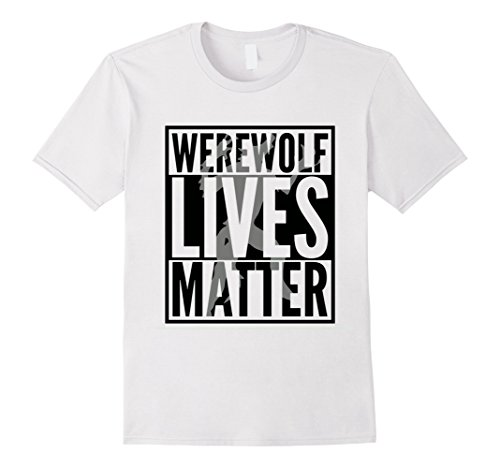 Mens Funny Halloween Costume Ideas 2017 Werewolf Shirt Medium White for $<!--$17.95-->