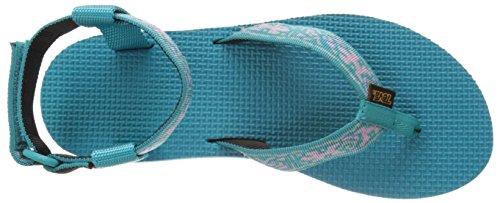 Lizard Women's Original Sandal Blue Teva Old Lake HzI6xWqqS