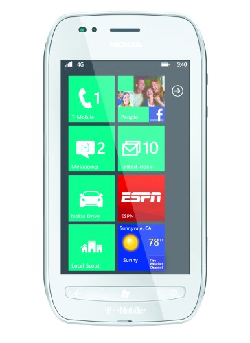 Nokia Lumia 710 8Gb White WiFi Windows Touchscreen Unlocked GSM 3G Cell Phone
