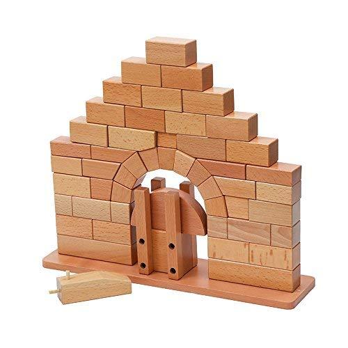 DANNI Baby Toy Montessori Roman Bridge Wood for Early Childhood Education Preschool Kids Sensory Toys
