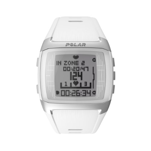 Coded Rate Heart Transmitter (Polar FT60 Heart Rate Monitor, White)
