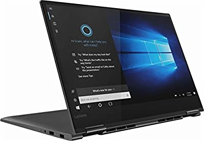 "Lenovo Yoga 730 15.6"" Full HD IPS 2-in-1 Touch-Screen Laptop, Intel Quad-Core i5-8250U up to 3.4GHz Backlit Keyboard Thunderbolt Fingerprint Reader Win 10-Upgrade up to 16GB DDR4 1TB PCIe NVMe SSD by Lenovo"