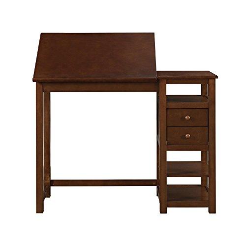 Dorel Living Drafting Craft Counter Height Desk Espresso