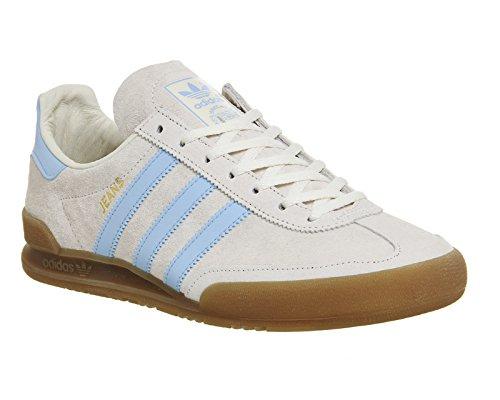 adidas Jeans Scarpa white/sky/gum