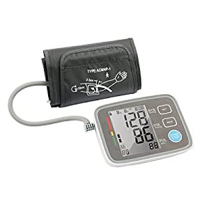 Automatic Digital Upper Arm Blood Pressure Monitor Clinically Validated Sphygmomanometer, FDA Approved 2018 NEW VERSION