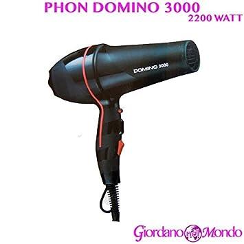 PHON PELUQUERÍA PROFESIONAL SECADOR DE PELO 2200 W DOMINO 3000: Amazon.es: Belleza