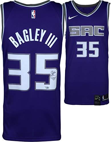 Marvin Bagley III Sacramento Kings Autographed Purple Nike Swingman Jersey - Fanatics Authentic Certified