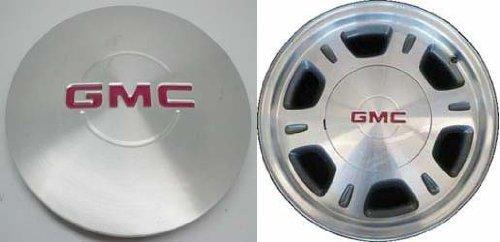 16 Inch 1999-2005 GMC Sierra 1500 Safari Yukon XL Factory Original Oem Silver Painted Center Brushed Cap Wheel Rim Cover Hubcap 15040220 5077