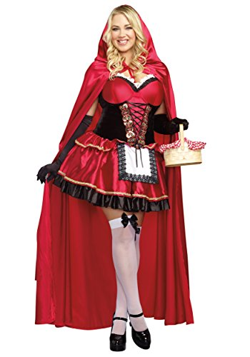 Women's Plus Size Little Red Costume 5X - Costumes Plus Size 5x