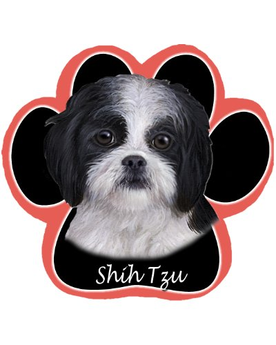Black Shih Tzu Dog Paw Non-Slip Mousepad