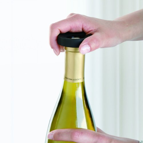 The Sharper Image Rechargeable Wine Opener Import It All