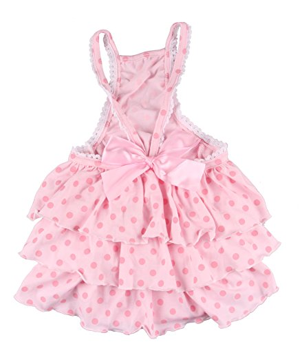 Amazon.com : PetsLove Pet Dresses Doggie Skirt Princess Costume Cat Clothes Dog Dress Apparel Pink XL : Pet Supplies