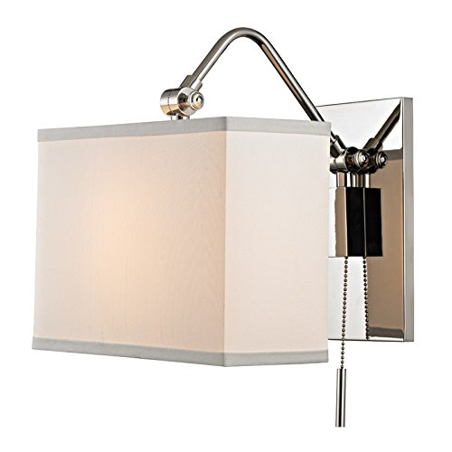 - Hudson Valley Lighting 5421-PN Leyden Wall Sconce Polished Nickel