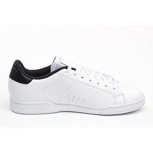 Neu Herren/Herren Weiß Reebok Klassisch Npc 2 Elite Sportschuhe Mit Schnürsenkeln weiß/Schwarz - UK GRÖßEN 6-13