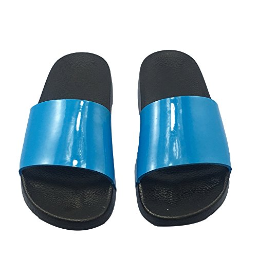 Pegajosos Blue Blue XING Popular British Playa Sandalias Zapatillas Trends GUANG Zapatos Casa De Summer Zapatos Korean 39 44 Cork De PanrUPzq