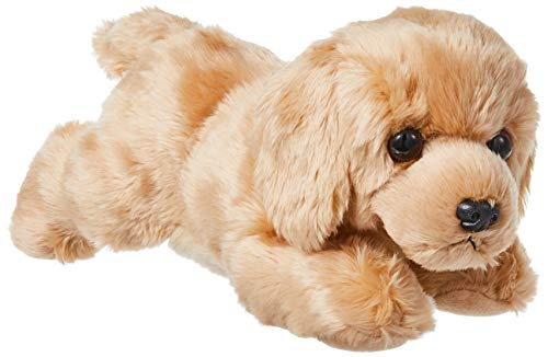Aurora World Inc. Flopsie Plush Goldie Labrador Dog, 12″,Multicolor