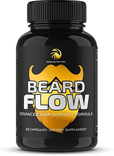 Premium Beard Growth Vitamins Supplement product image