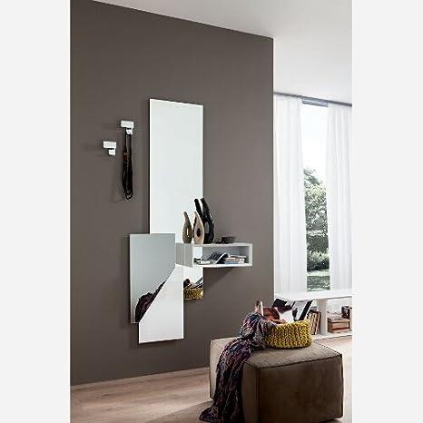 Specchiera Moderna Ingresso.Emporio3 Ingresso Moderno Con Appendino E Specchio Pr600