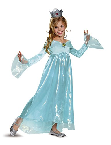 Rosalina Deluxe Costume, Blue, Small (4-6X) for $<!--$29.99-->