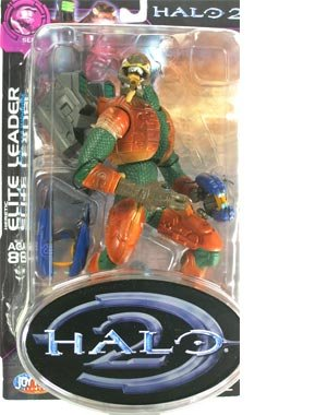 Halo Joyride Series - HALO 2 Series 8 Heretic Elite Leader Action Figure (Distressed Package)