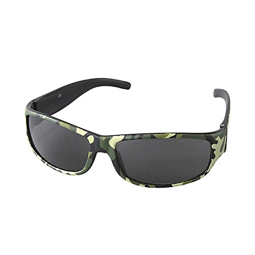 Time Concept Fashion UV400 Camo Sunglasses for Kids - (Camouflage Kids Sunglasses)