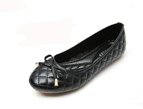 confortable marée arc chaussures 1 antidérapantes chaussures de grand Unique plates femme KUKI féminine travail travail tq7EE