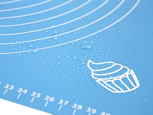 Non-Stick Silicone Rolling Baking Mat Sheet Pastry Fondant Icing Cake Pizza ToBE