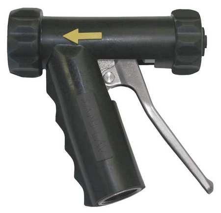 Spray Nozzle, Aluminum, Brass/SS, Black