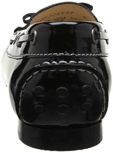 Sioux Lovina-151 - mocasines de cuero mujer negro - negro