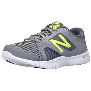 New Balance Men's 613v1 Cross Training Shoe, Grey/Yellow, 10.5 D US