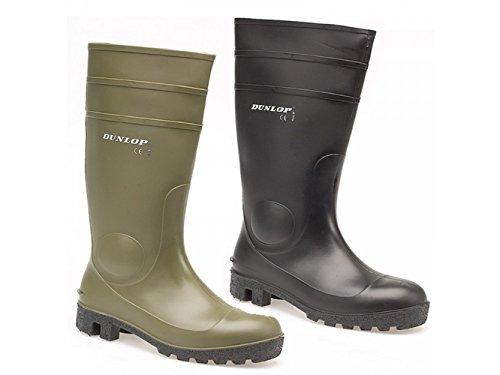 Dunlop ,  Unisex - Erwachsene Wellington-Schuhe , Grün - grün - Größe: 45 EU
