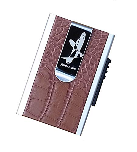 - NOT LIKE THE OTHERS - AN AUTHENTIC MINIMALIST METAL TRUE RFID BLOCKING WALLET - MONEY CLIP