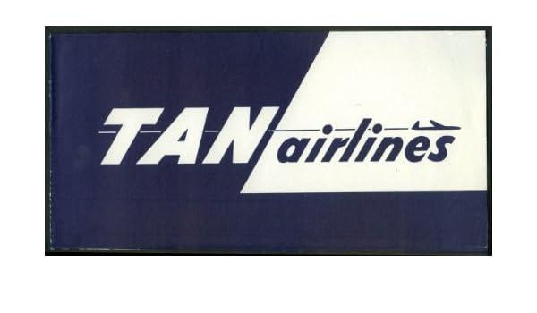 Amazon.com: Transportes Aéreos Nacionales TAN Airlines ...