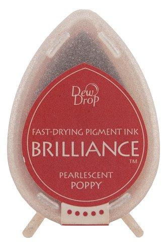 Tsukineko Brilliance Dew Drop Inkpad, Pearlescent (Dew Drops Scrapbooking)