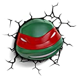 Cheap 3DLightFX Nickelodeon TMNT Raphael 3D Deco Light