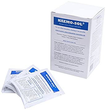 haemo-sol 026 - 055 enzima activa detergente, concentrado en polvo ...