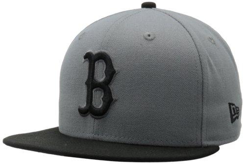 New Era MLB Boston Red Sox MLB Basic Stm/Gry 59Fifty, STORM GRAY/BLACK, 7 (Boston Red Sox 59fifty)
