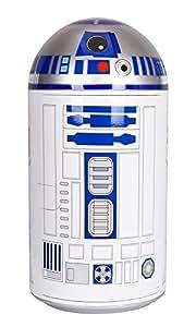 Disney Star Wars Mini Fridge, White/Blue, 14 L