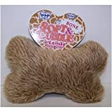 Vo-Toys Wild n Shaggy Bone Plush 8 in Dog Toy For Sale